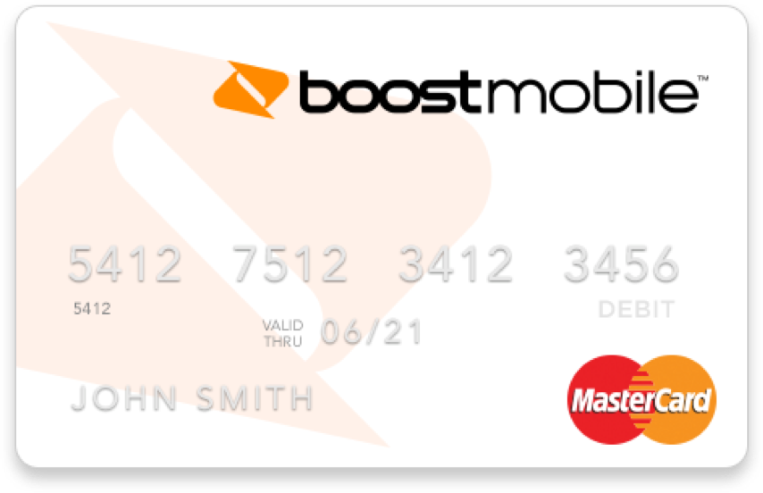 Boost Mastercard